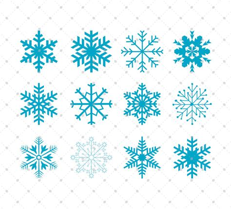 Available source files and icon fonts for both personal and commercial use. Snowflakes SVG Cut Files Christmas Snowflakes SVG Cut Files