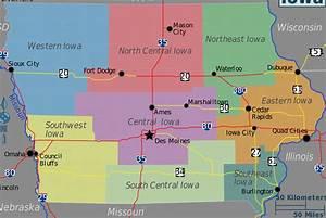 Geography Of Iowa