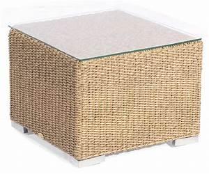 Polyrattan Tisch 60x60 : lounge beistelltisch residence hyazinthoptik 60x60 cm mit glasp ~ Buech-reservation.com Haus und Dekorationen