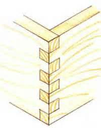Plywood Cabinet Boxes by Types Of Timber Joints Comb Joint Finger Joint How