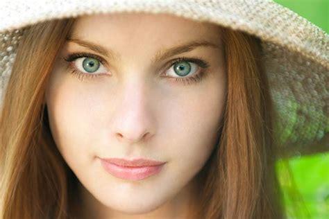 green eyes   attractive eye color