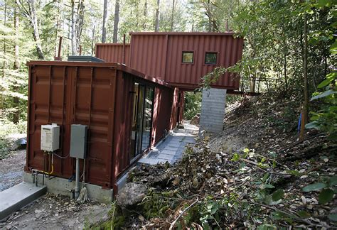 cargo container homes shipping container homes modulus six oaks santa cruz shipping container home