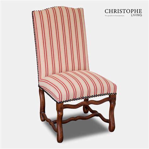 muttonbone dining chair fully upholstered  studding christophe living