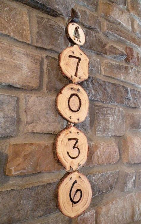 crative ways  display  house numbers