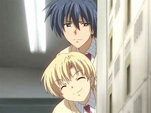 Sunohara & Tomoya | *~Clannad~* | Pinterest | Clannad and ...