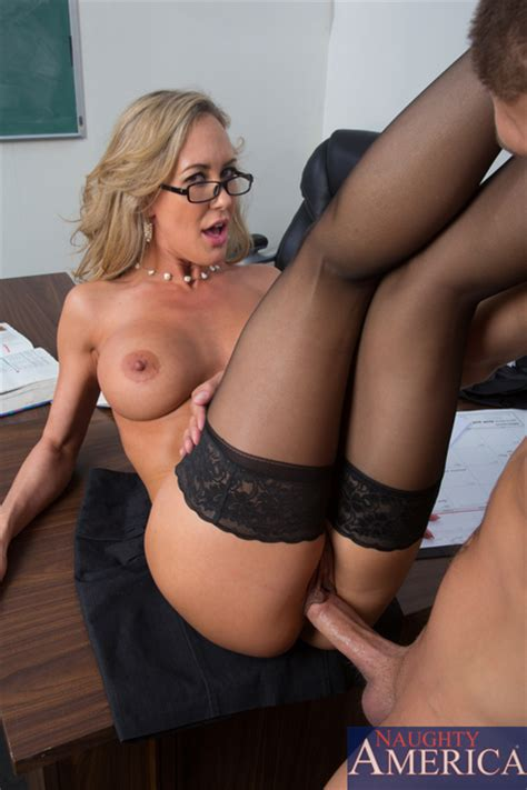Teacher Brandi Love Get Down On Xanders Bologna Milf Fox