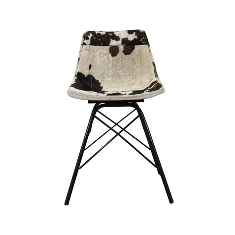 Cowhide Dining Chairs Uk by Cowhide Dining Chairs Uk Black Vintage Leather