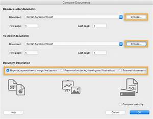 how to compare pdf file versions adobe acrobat dc tutorials With pdf documents compare