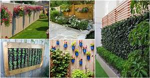How, To, Decorate, Your, Garden, Fence, With, Some, Beautiful, Planters