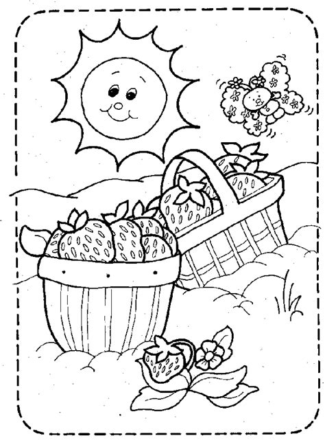 fruit pictures  kids coloring home
