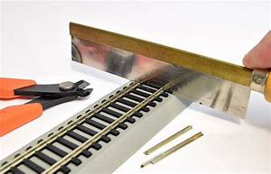 Model Railroad Track  A Beginners Guide To Rail Cutting
