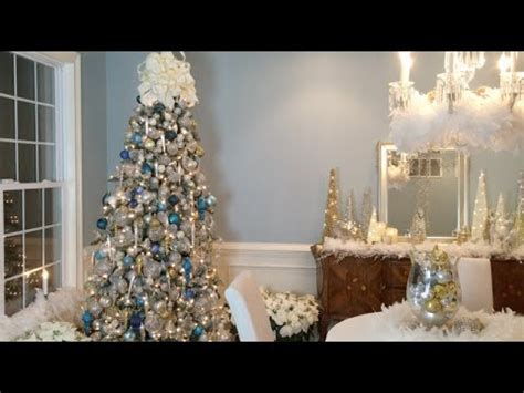 create  beautiful winter wonderland christmas tree