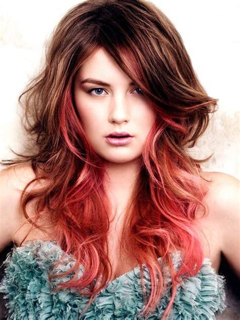 hair color streaks hair colour streaks fashion from runway