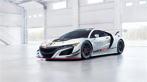Honda Acura Nsx Gt3 4k Wallpaper Hd Car Wallpapers