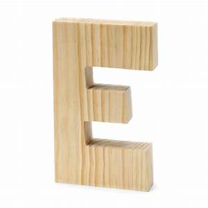 chunky wood letter e 8 x 5 inches wholesale darice With wooden cut out letters wholesale