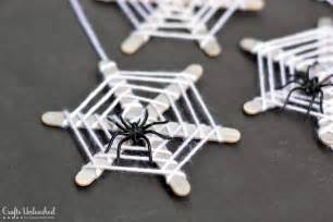 Halloween Spider Crafts