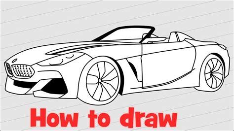How To Draw Bmw