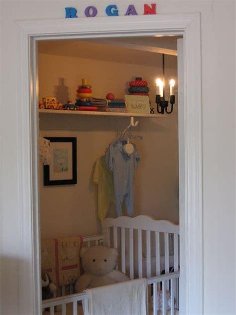 nursery closet shelving