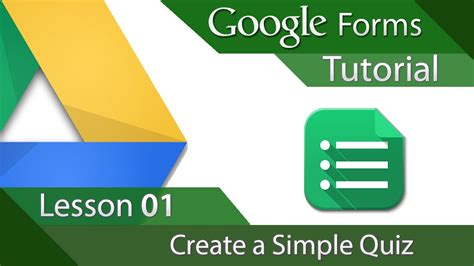 how to create a google form quiz google forms tutorial 01 creating a simple quiz youtube