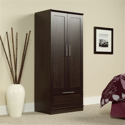 Sauder Homeplus Storage Cabinet With Drawer by Homeplus Wardrobe Storage Cabinet 411312 Sauder