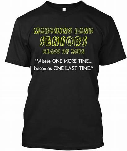 Band Marching Shirt Shirts Quotes Senior Seniors