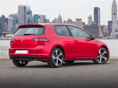 volkswagen hatchback 2016 2016 volkswagen golf gti price photos reviews features