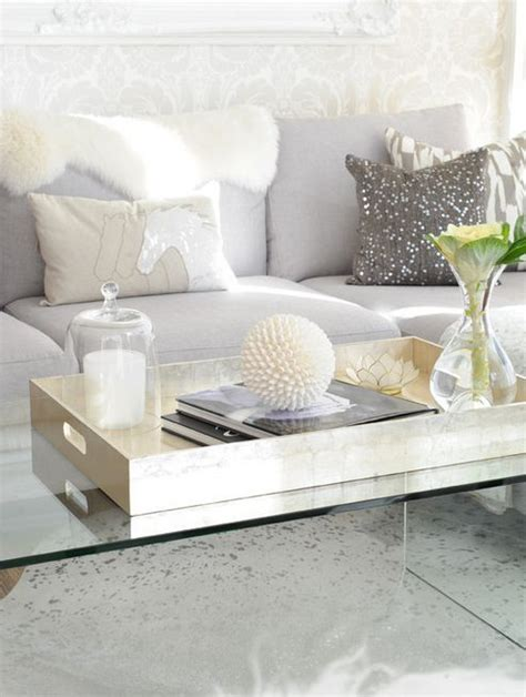 coffee table accessories 1000 ideas about coffee table tray on