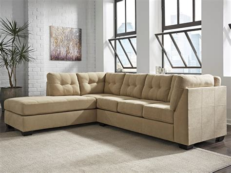 Benchcraft By Ashley Maier Tan 2 Piece Sectional With