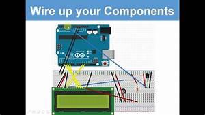 Temperature Sensor On Lcd Display   9 Ultimate Arduino