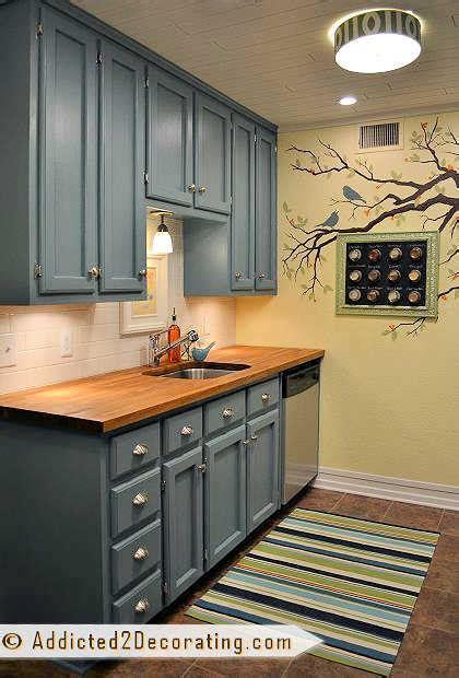 teal kitchen cabinet sneak peek    cabinet