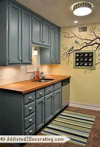 teal kitchen cabinet sneak peek plus a few cabinet With kitchen colors with white cabinets with large teal wall art