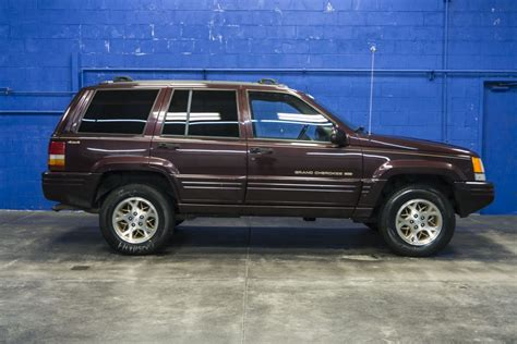 Used 1996 Jeep Grand Cherokee Limited 4x4 Suv For Sale