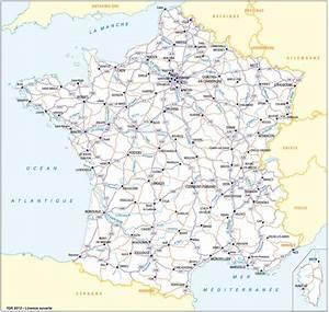 Carte France Autoroute : carte d taill e carte du monde france map voyage ~ Medecine-chirurgie-esthetiques.com Avis de Voitures