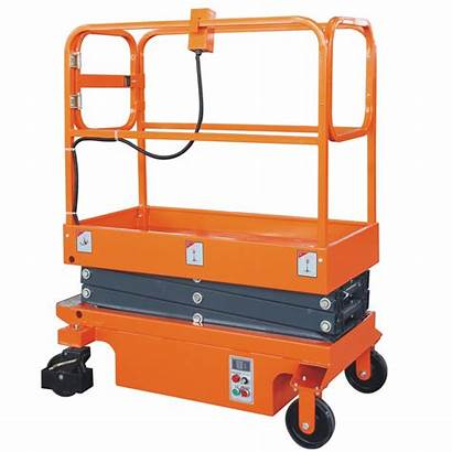 Platform Mobile Aerial Electric Semi Access Workplace