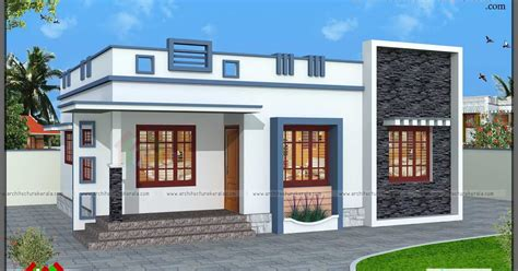 3 Bedroom Small House Design by 760 Square 3 Bedroom House Plan Architecture Kerala