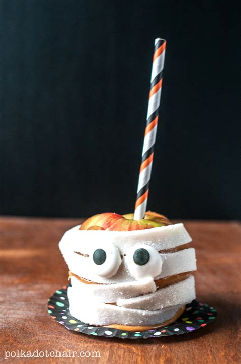 Candy Apple Monsters - Caramel Apple Decorating Ideas