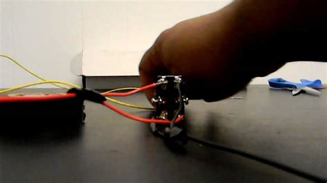 How Wire Linear Actuator Way Toggle Switch Youtube