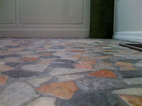 The cheapest way to imitate tile floors?   General Mini