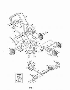 Craftsman Model 247772461 Edger Genuine Parts