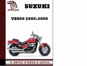 Suzuki Vz800 Marauder Pdf Service Repair Workshop Manual
