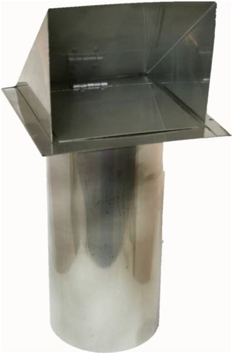 Heavy Duty Metal Vents in Copper, Stainless and Galvanized