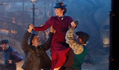 mary poppins premiere stars     film