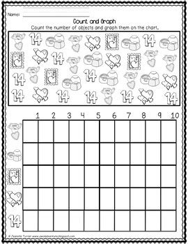 math activities and worksheets for s day pre k first grade