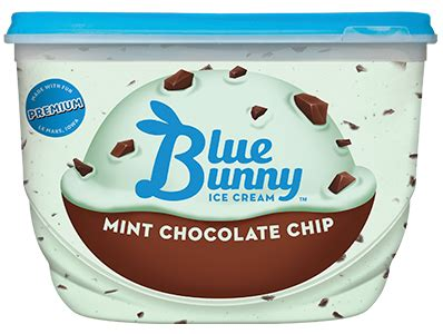 sweet freedom mint chocolate chip ice cream blue bunny