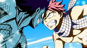 Gajeel vs Natsu - Fairy Tail Photo (36000925) - Fanpop