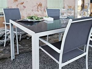 Table Pour Terrasse : table pour terrasse table exterieur jardin maison email ~ Teatrodelosmanantiales.com Idées de Décoration