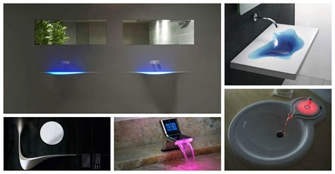 awesome futuristic bathroom sinks   blow  mind