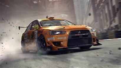 Evo Mitsubishi Orange Grid Team Acersense Wallpapers