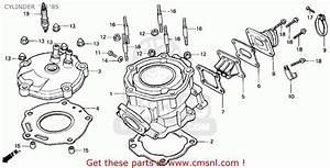 Honda Cr125r 1985  F  Usa Cylinder  U0026 39 84  U0026 39 85