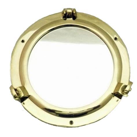 miroir hublot en laiton 20 cm achat vente d 233 coration